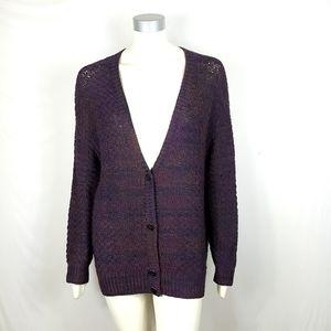 10 Crosby Derek Lam Deep V Neck Cardigan Sweater